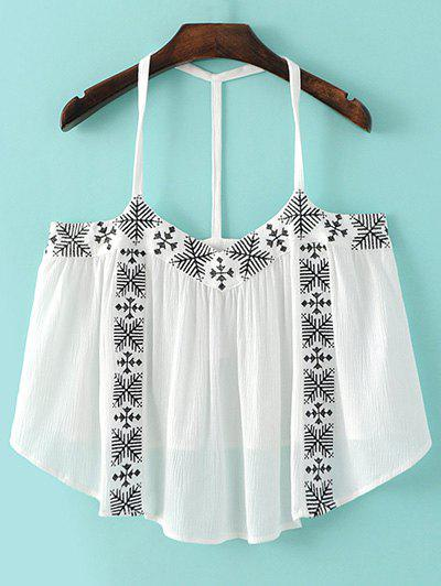 Embroidery Cami Tank Top 182293202