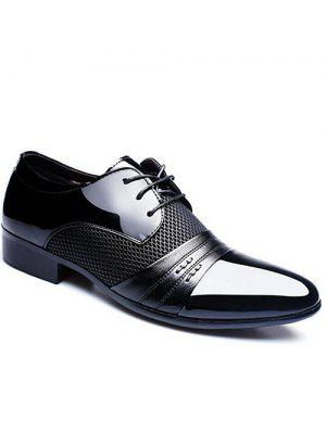 Ensemble à épingles à la mode et Pointe Toe Design Formal Shoes For Men