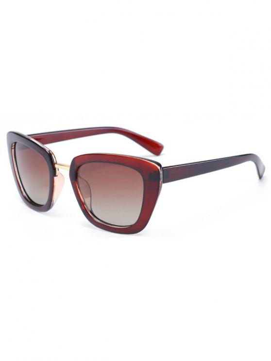 outfit Butterfly Frame Sunglasses - TEA-COLORED