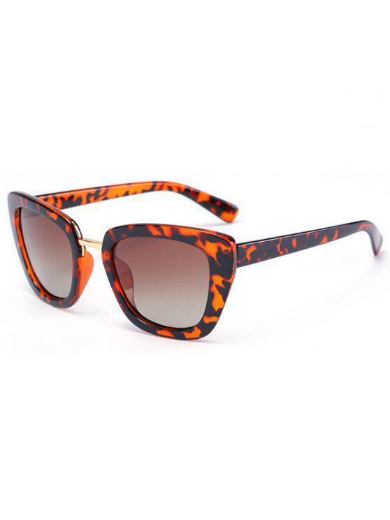 Gafas de sol del marco de la mariposa Flecky - Negro