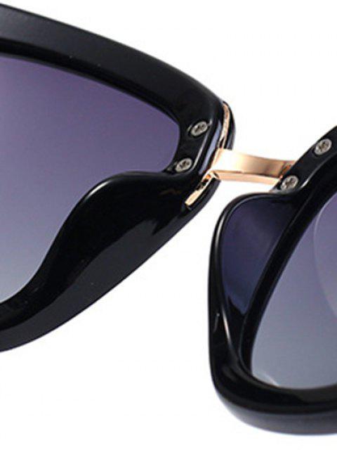 hot Butterfly Frame Sunglasses - BLACK  Mobile