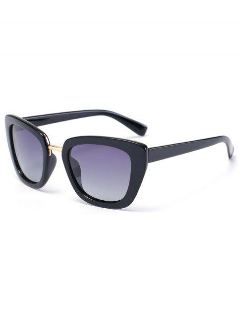 hot Butterfly Frame Sunglasses - BLACK  Mobile