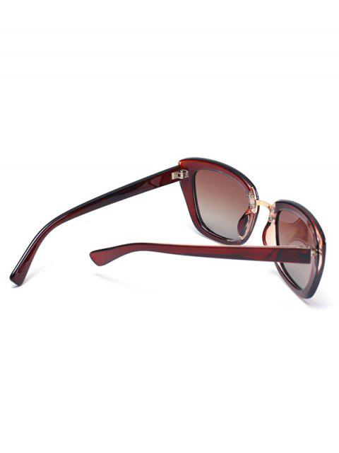 outfit Butterfly Frame Sunglasses - TEA-COLORED  Mobile