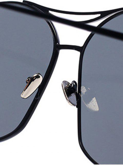 shop Black Irregular Frame Sunglasses -   Mobile