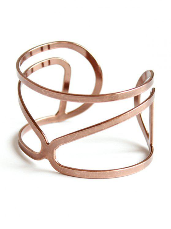ladies Hollow Out Bohemian Style Bracelet - ROSE GOLD