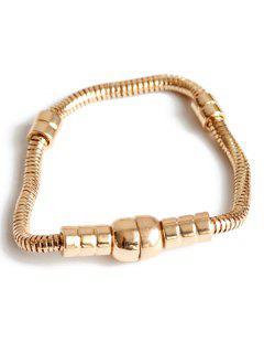 Hipsters Magnet Bracelet - Golden
