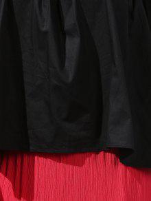 Corta The Off Camisa Hombro Negro wSggtq4xT