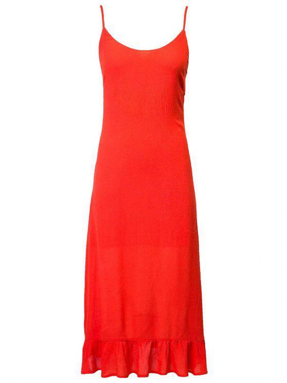 buy Lace Up Cami Flouncing Dress - JACINTH L