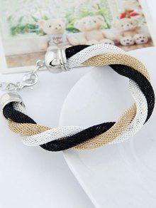 Trois Color Match Twining Bracelet - Blanc