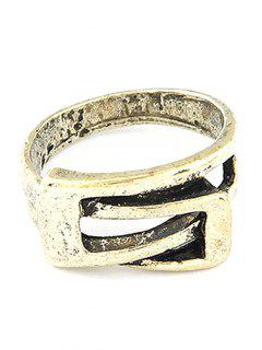 Personality Belt Buckle Ring - Golden