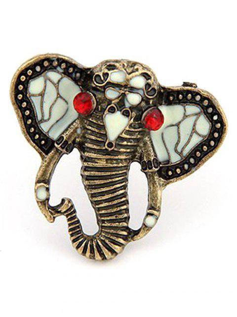 women Tribal Elephant Ring - COPPER COLOR  Mobile