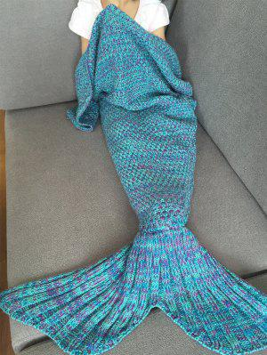 Tricoté Mermaid Tail Blanket
