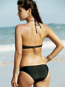 Bikini color shaping with rhinestone