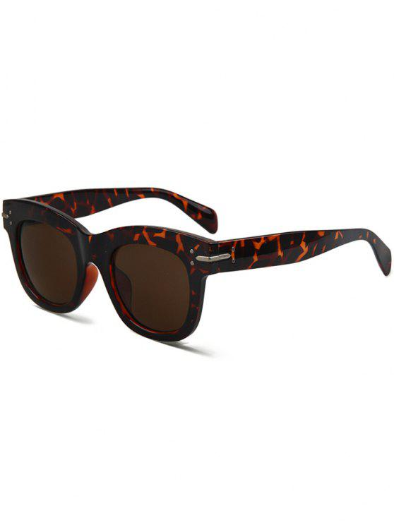 outfits Fleck Sunglasses - DEEP BROWN