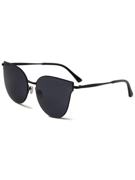 shops Black Cat Eye Sunglasses - BLACK