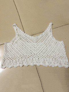 El Cordón Blanco Cami Camisa Corta - Blanco