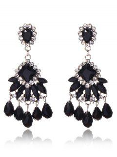 Chandelier Jewelry Dangle Earrings - Black