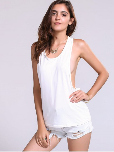 outfit Dropped Armhole Tank Top -   Mobile