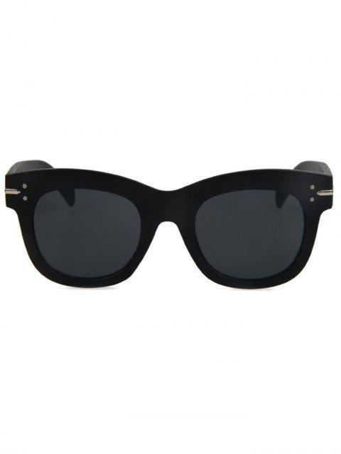 online Matte Black Sunglasses - BLACK  Mobile