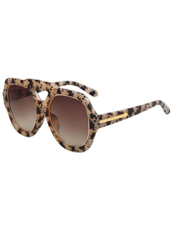 womens Arrow Double Rim Black Fleck Sunglasses - OFF-WHITE