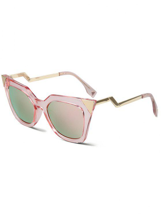 0d810f1d80d66 29% OFF  2019 High Pointed Pink Cat Eye Sunglasses In PINK