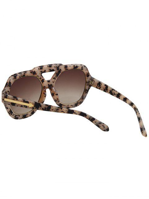 womens Arrow Double Rim Black Fleck Sunglasses -   Mobile