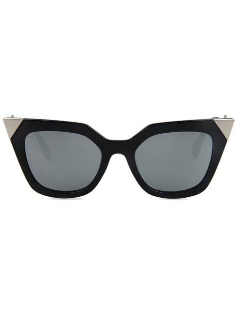 outfit High Pointed Black Cat Eye Sunglasses -   Mobile