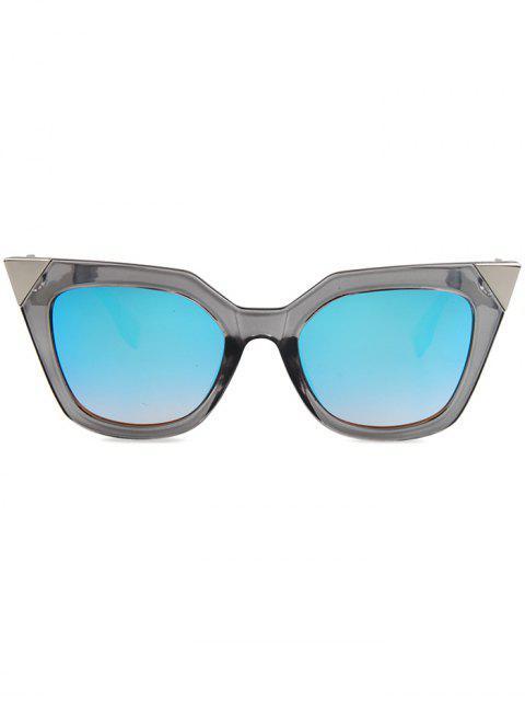 shops High Pointed Zigzag Leg Cat Eye Sunglasses -   Mobile