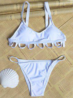 Blanc Cami Creux Bikini - Blanc L