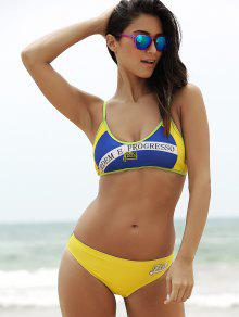 Bikini brazilian flag