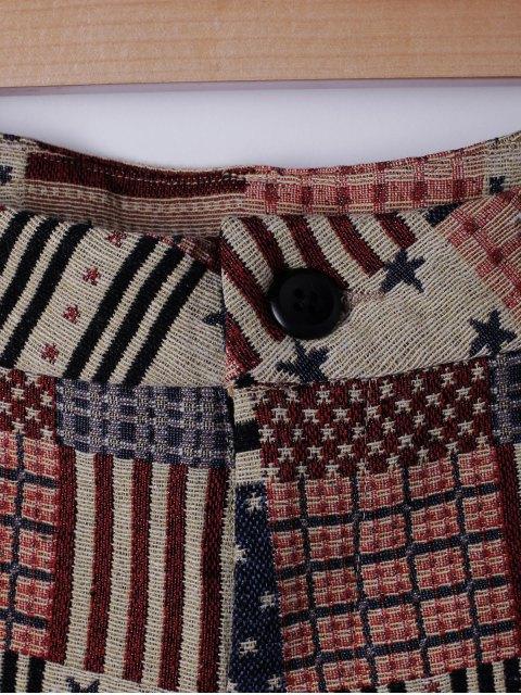 Shorts Stripe mode pour femme - Pastèque Rouge M Mobile