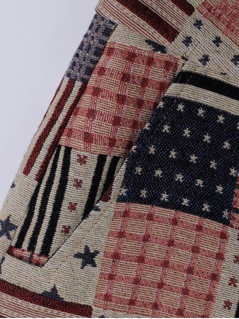Shorts Stripe mode pour femme - Pastèque Rouge L Mobile