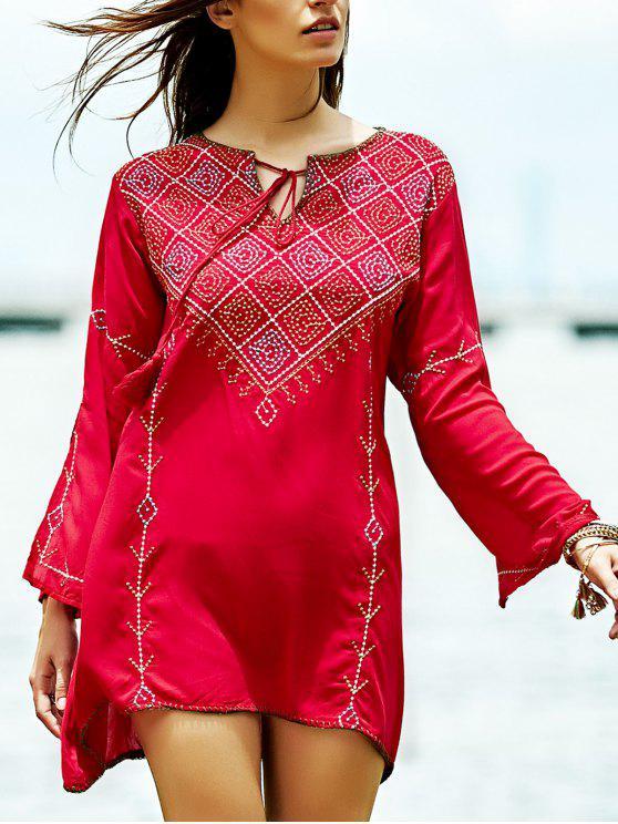 Bordado Blusa - Rojo S