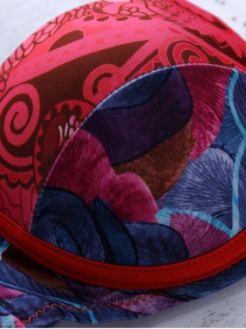 Imprimé One-Piece Swimsuit - Multicolore L Mobile