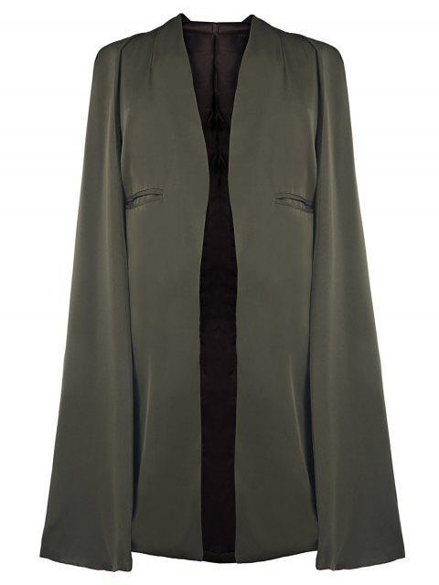 Army Green Cape Coat - Armeegrün 2XL Mobile