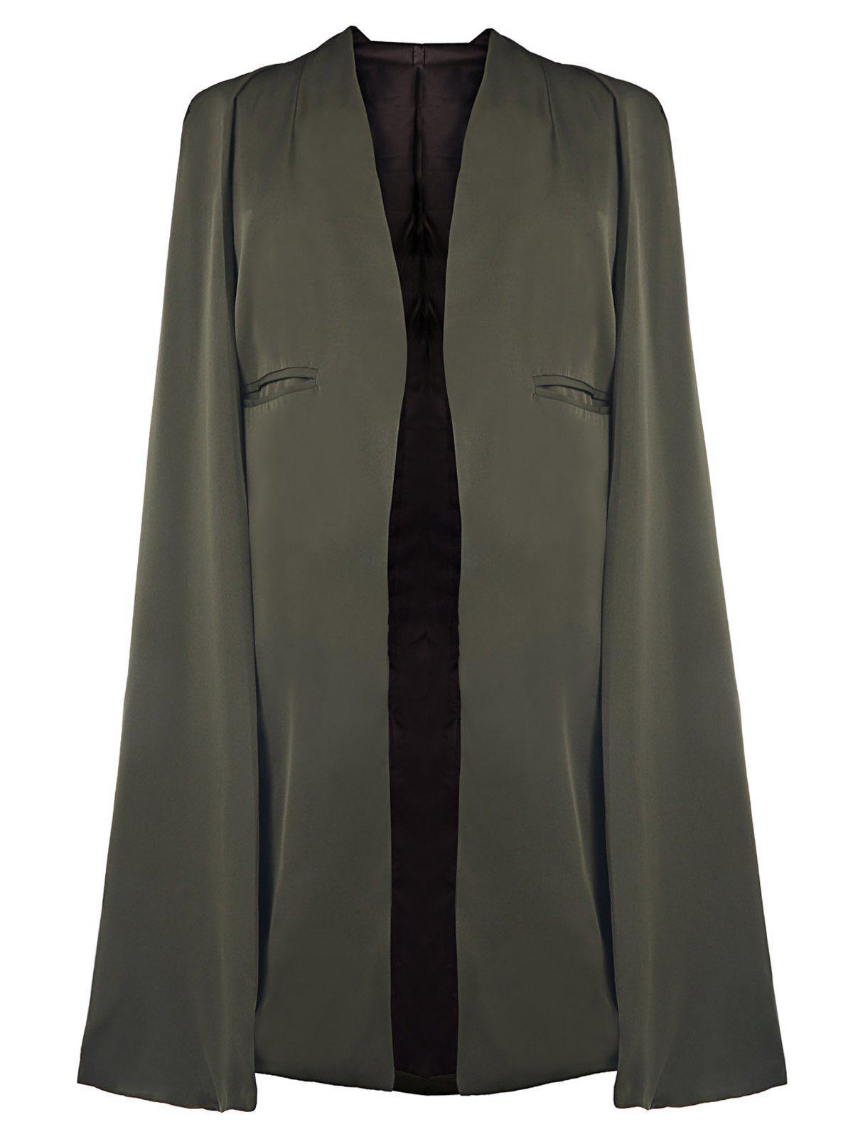 Vert D'Armée Cape Coat
