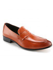 موجز بلون و بو الجلود تصميم أحذية رسمية للرجال - بنى 43