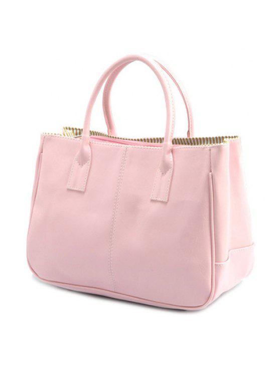 حقيبة كتف لون احمر للنساء (حقيبة يد) حقيبة كتف لون احمر للنساء - زهري