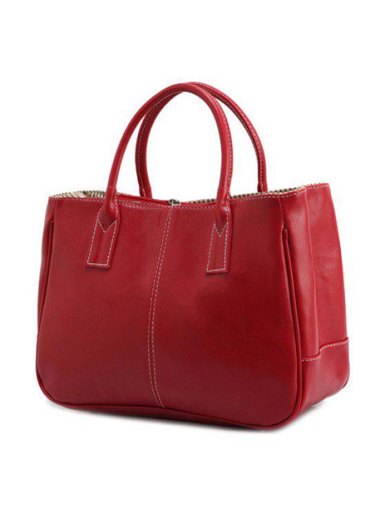 حقيبة كتف لون احمر للنساء (حقيبة يد) حقيبة كتف لون احمر للنساء - أحمر