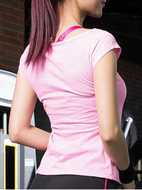 online Dot Pattern Sport T-Shirt -   Mobile