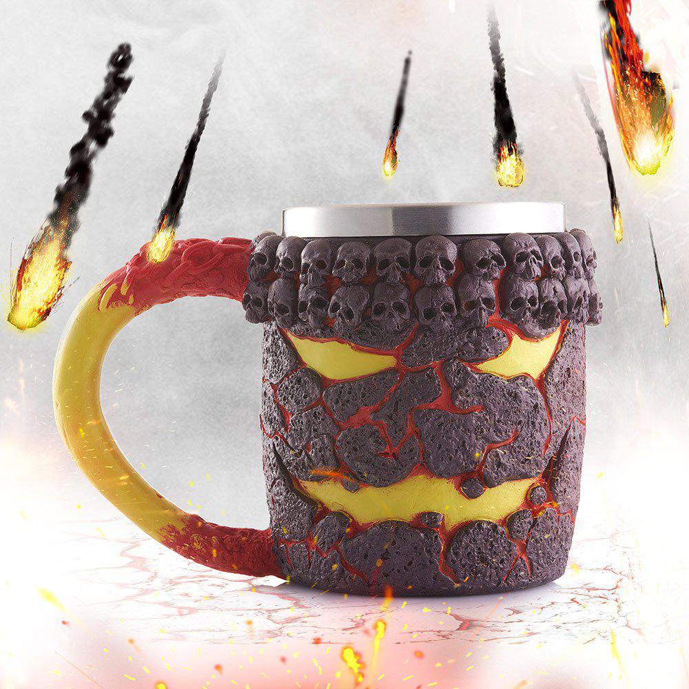 15OZ Creative Halloween Magma Monster Pattern Beer Cup For Bar Festive Decoration 185873401