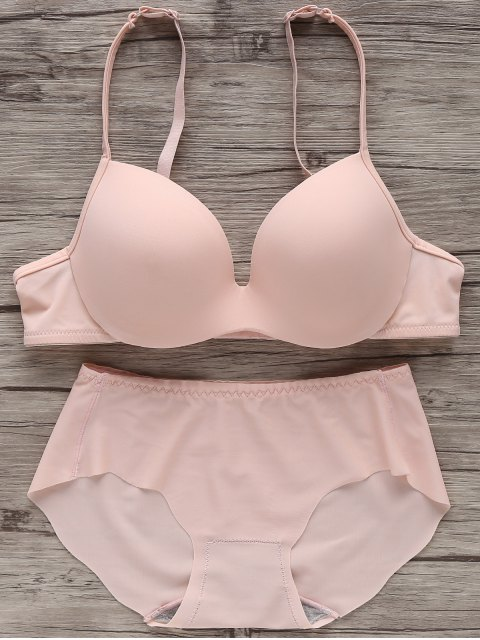 Full Cup Seamless Push Up Bra - Rosa 80B Mobile