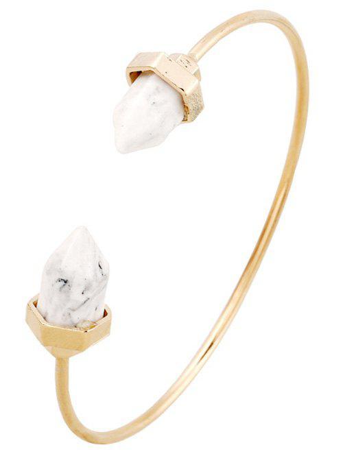 Faux Turquoise Arrowhead Cuff Bracelet