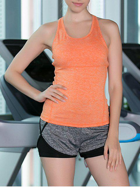 fashion Tank Top and Mesh T-Shirt and Sport Shorts - COLORMIX M Mobile