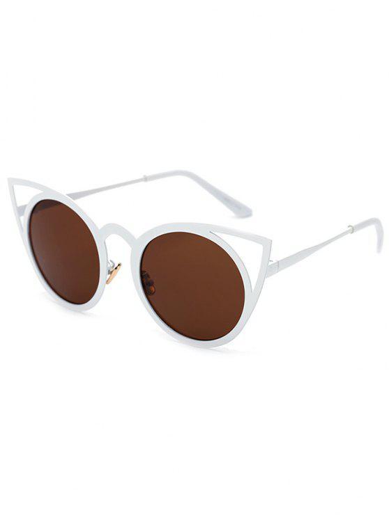 Recortable gato blanco gafas de sol del ojo - Té