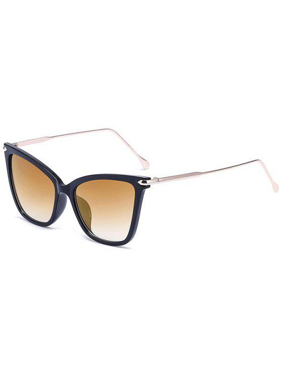 shops Charming Black Butterfly Sunglasses - LIGHT BROWN
