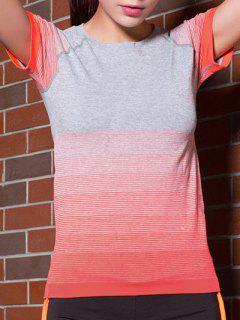 Camiseta De Color Degradado Stretchy - Jacinto S