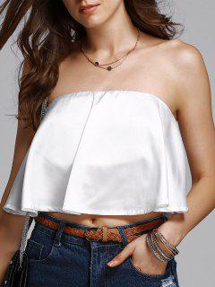 Solid Top Tubo De Color - Blanco M