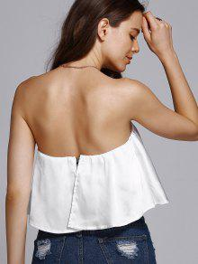 560437ad7b 20% OFF  2019 Solid Color Tube Top In WHITE