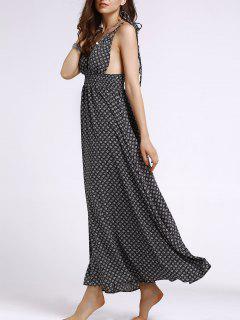Ethnic Print Cami Maxi Dress - S